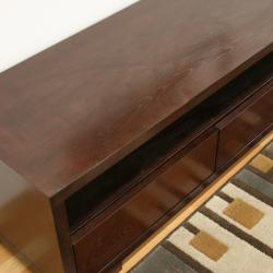 Jairo Dark Brown Wood Modern TV Stand