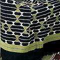Cotton 'Geometrical Legacy' Throw (India)