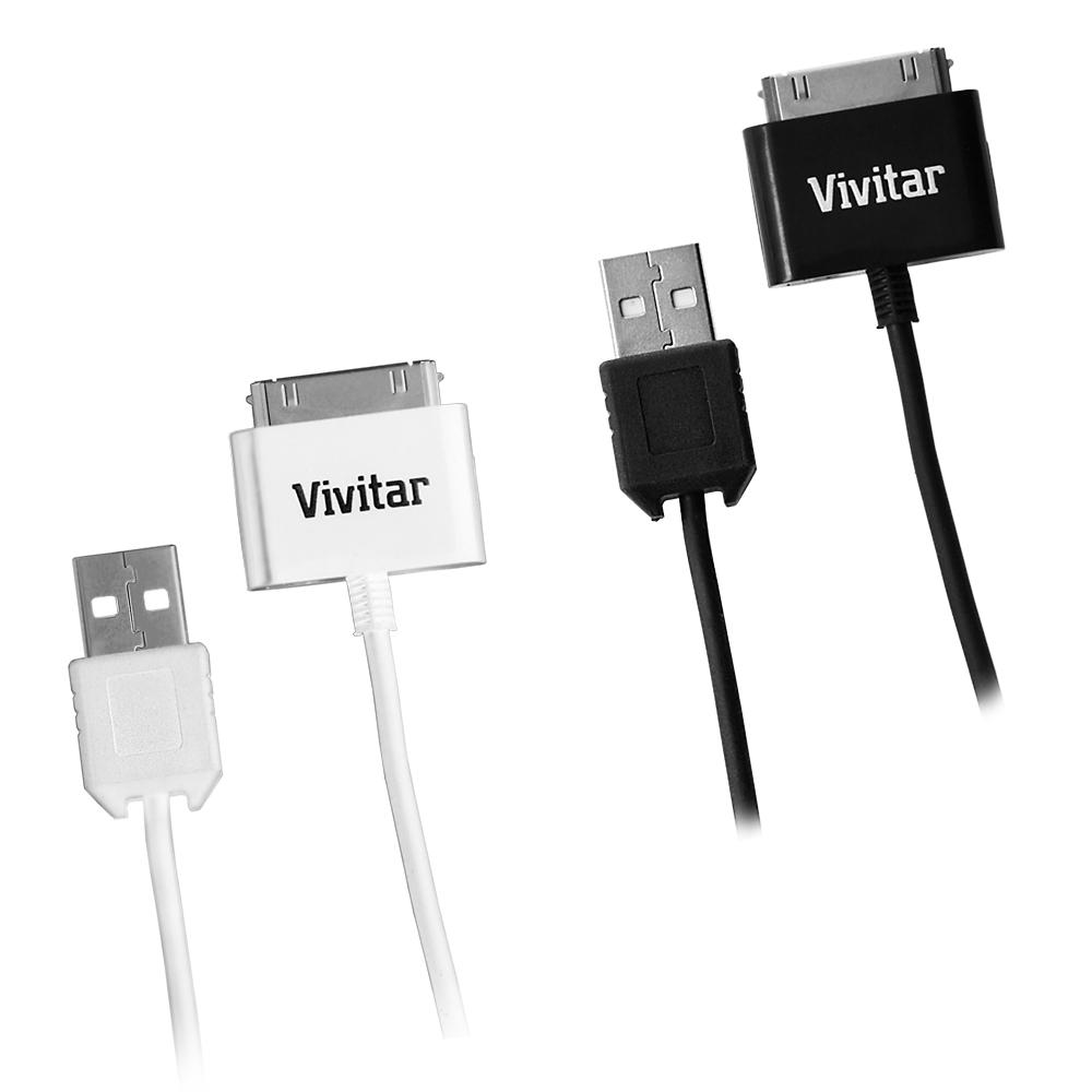 Vivitar Sync and Charge Cable for iPod, iPhone and iPad