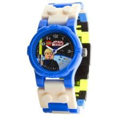 LEGO Star Wars Blue-and-white Plastic Luke Skywalker Character Watch