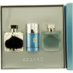 Azzaro 'Chrome' Men's Three-piece Fragrance Set