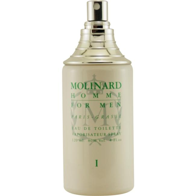 Molinard Men's 4-ounce Eau de Toilette Tester Spray