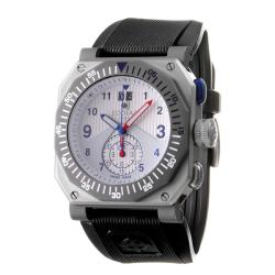 Zodiac Men's 'ZMX' Titanium and Rubber Quartz Chronograph Watch