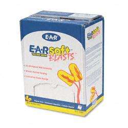 3M E-A-Rsoft Blasts Foam Ear Plugs (Case of 200)