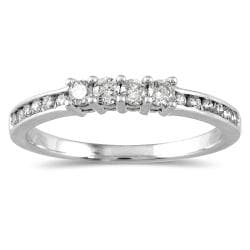 10k White Gold 1/3ct TDW Diamond Ring (I-J, I1-I2)