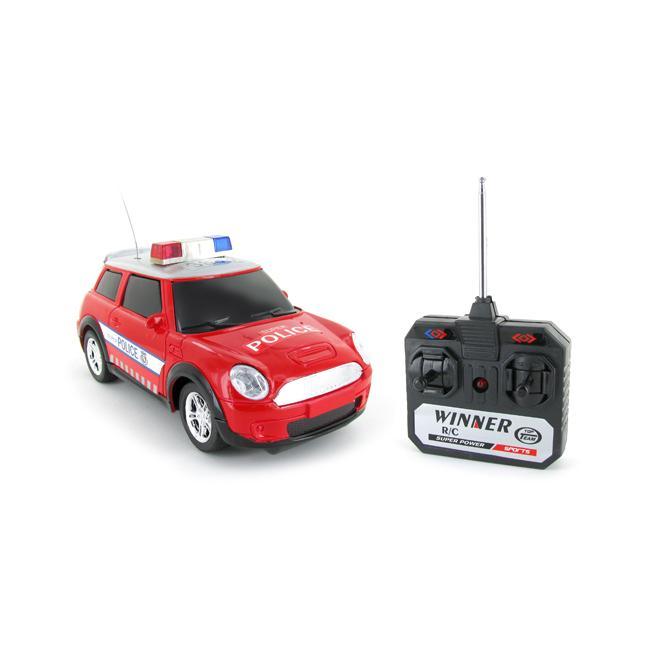 Top Speed Police Mini Electric RTR RC Car