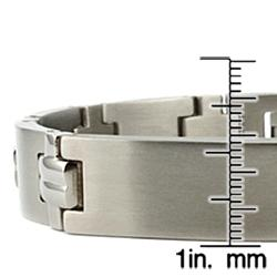 Men's Titanium Watch Link ID Bracelet