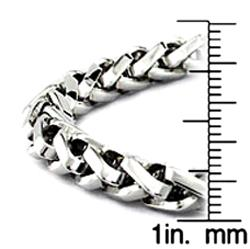 Stainless Steel Celtic Chain Bracelet