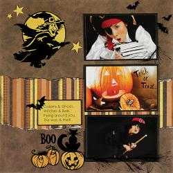 Personal Shopper October 2009 Heritage Scrapbooking Set