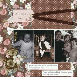 Personal Shopper May 2009 Floral Scrapbooking Set