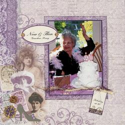 Personal Shopper June 2009 Elegant Ladies Scrapbooking Set
