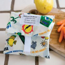 Wrap-N-Mat Reusable Sandwich Wraps