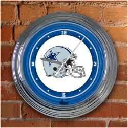 Dallas Cowboys 15-inch Neon Clock