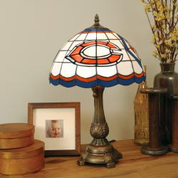 Tiffany-style Chicago Bears Lamp