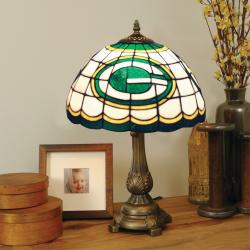 Tiffany-style Green Bay Packers Lamp