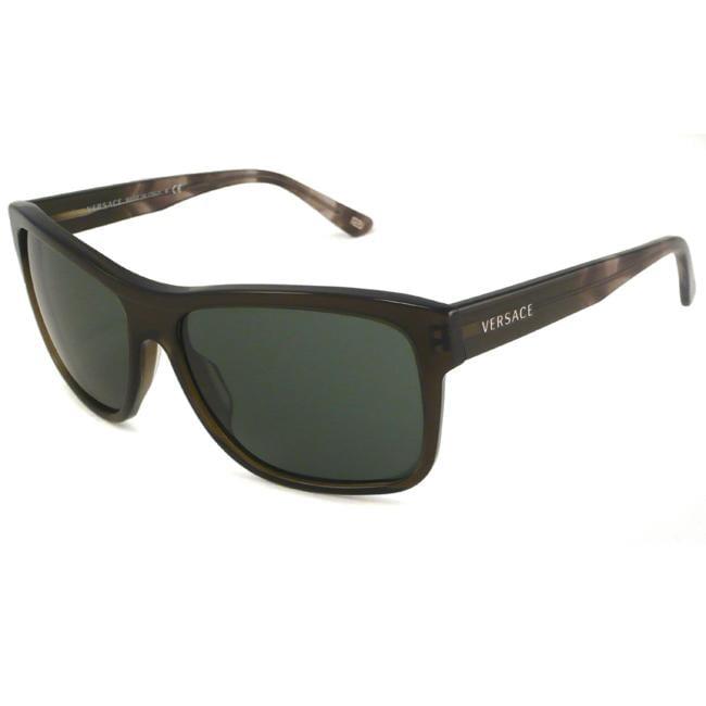 Versace Mens VE4179 Rectangular Sunglasses 13339656  : L73408523 from www.overstock.com size 650 x 650 jpeg 7kB