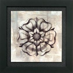 'Rosette IV' Framed Wall Art
