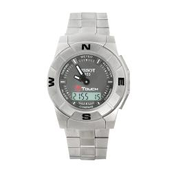 Tissot Men's T-Touch Trek Titanium Swiss Quartz Multifunctional Watch.