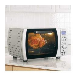 Farberware Countertop Oven With Rotisserie : ... TOB-60N Stainless Steel CounterPro Convection Toaster Oven Broiler