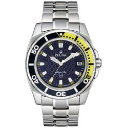 Bulova 'Marine Star' Men's Blue Dial Watch
