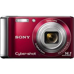 Sony Cybershot SDC-W370 Red Digital Camera (Refurbished)