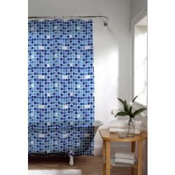 Tiles Extra Long Peva Shower Curtain | Overstock.
