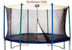 Pure Fun 12-foot UV-resistant Mesh Rust-proof Trampoline Enclosure