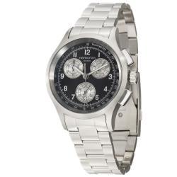 Hamilton Men's 'Khaki Aviation Chrono' Stainless Steel Quartz Watch