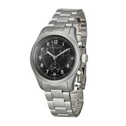 Hamilton Men's 'Khaki' Stainless Steel Quartz Chronograph Watch