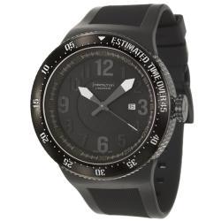 Hamilton Men's 'Khaki Field' PVD Coated Titanium Automatic Watch