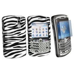 Zebra Case/ Screen Protector for Blackberry Curve 8300/8310/8320