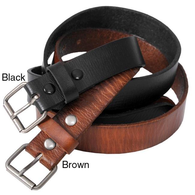 Boston Traveler Men's Casual Leather Belt