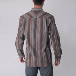 Joseph Abboud Men's Striped Long-sleeve Shirt