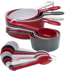 Progressive International 19-piece Measuring Cup and Spoon Set