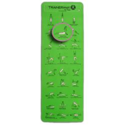 Pro Plus Green TRAINERmat for Yoga