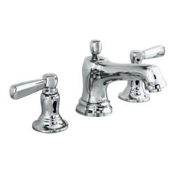 Kohler K-10577-4-CP Polished Chrome Bancroft Widespread Lavatory Faucet With Metal Lever Handles