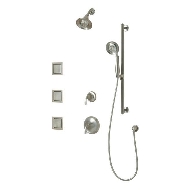 Kohler K-10857-4-BN Vibrant Brushed Nickel Luxury Performance Showering Package