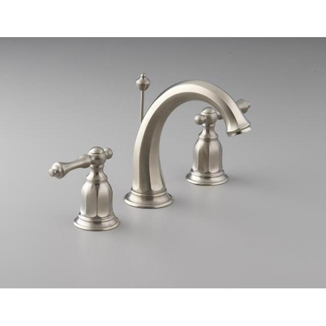 Kohler Worth Faucet : Kohler K-13491-4-BN Vibrant Brushed Nickel Kelston Widespread Lavatory ...