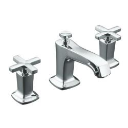 Kohler K-16232-3-CP Polished Chrome Margaux Widespread Lavatory Faucet With Cross Handles