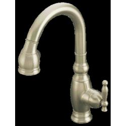 Kohler K-691-BN Vibrant Brushed Nickel Vinnata Secondary Kitchen Sink Faucet