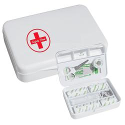 White Value First Aid Box (Pack of 3)