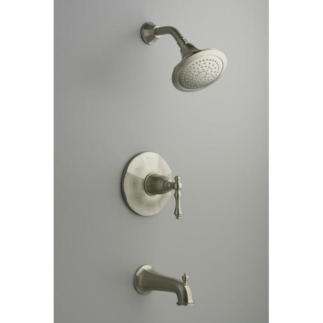 Kohler K-T13492-4-BN Vibrant Brushed Nickel Kelston Rite-Temp Pressure-Balancing Bath And Shower Faucet Trim