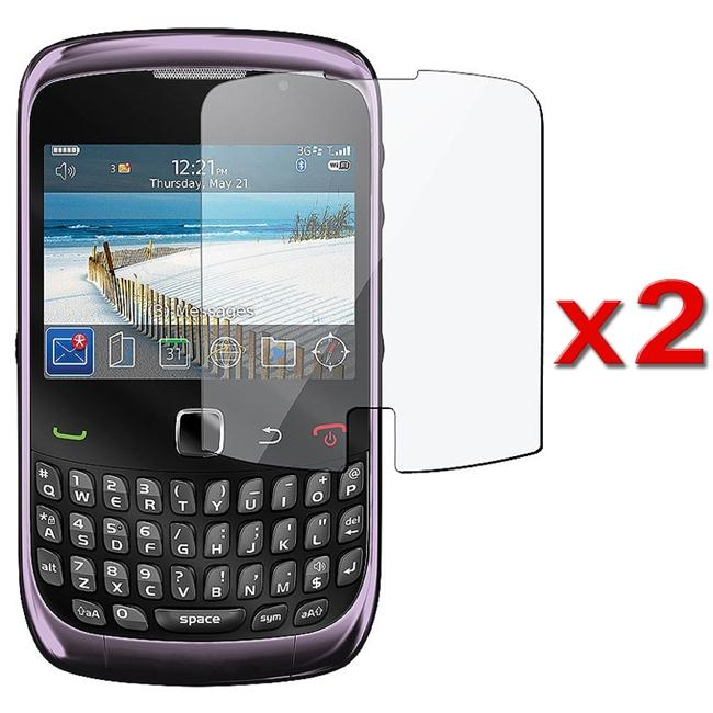 Screen Protector for BlackBerry Curve 3G/ 9300 (Pack of 2)