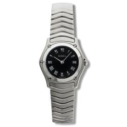 Ebel Women's 'Classic Wave' Stainless Steel Quartz Watch