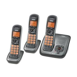 Uniden DECT1480-3 Cordless Digital Answering System with Two Extra Handsets (Refurbished)