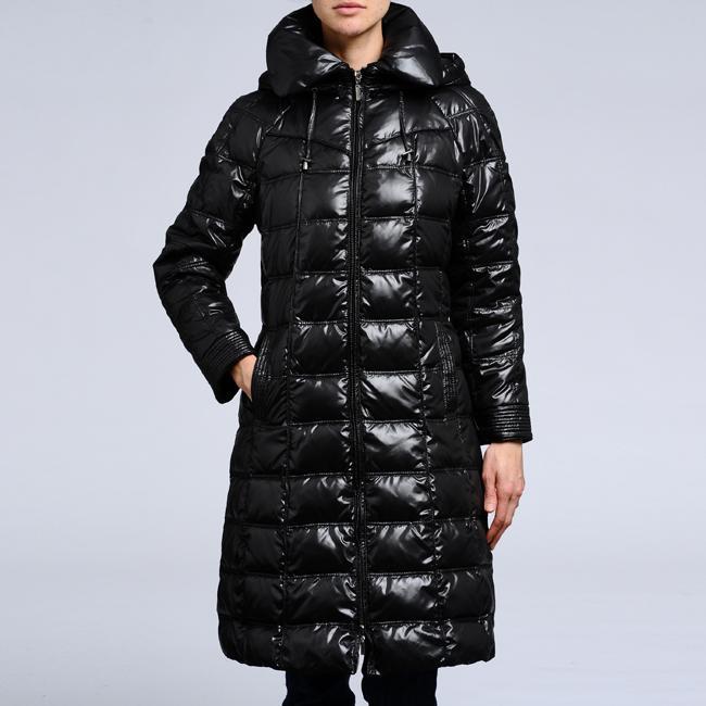 Nuage Women's Down Hooded Puffer Coat