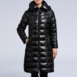 Nuage Women's Down Hooded Puffer Coat