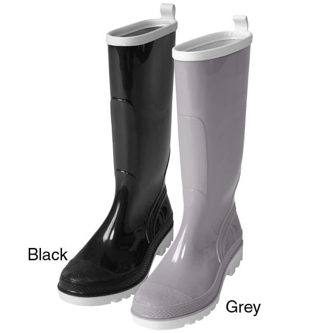 Journee Collection Women's Rain Boots