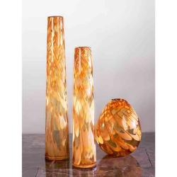 Impulse Small Amber Giglio Vase (Pack of 4)