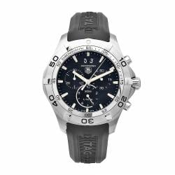 Tag Heuer Men's Aquaracer CAF101E.FT8011 Black Chronograph Dial Watch